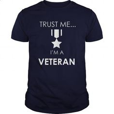 Trust Me Im A Veteran Great Gift For Any Military Veteran - #tee shirts #zip up hoodie. BUY NOW => https://www.sunfrog.com/Jobs/Trust-Me-Im-A-Veteran-Great-Gift-For-Any-Military-Veteran-Navy-Blue-Guys.html?60505