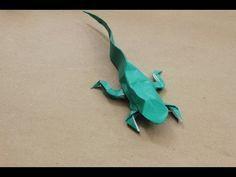 How to make an Origami Lizard (Justin Nachsin)