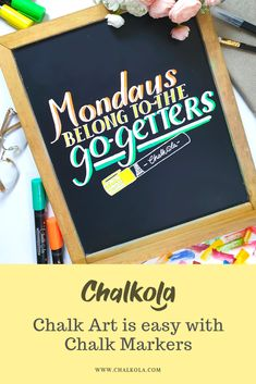 Chalk Art is SO much easier with Chalk Markers & Pens! Chalk Fonts, Chalk Lettering, Window Markers, Chalk Markers, Chalk Board, Pens, Boards, Weddings, Creative