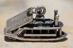 Vintage Sterling Silver by Bell Knotts Berry Farm Steamboat Cordelia K Charm | eBay