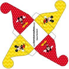 Caixa Bombom Mickey: