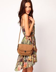 Ted Baker crossbody - $254 the dress is cute too.