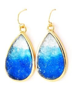 Blue Crush Earrings from Signature Style 365