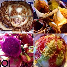 Sandwich , Jinni Dosa , Dragon Fruit Juice & Ice Gola @ Khao Galli ( Vile Parle )