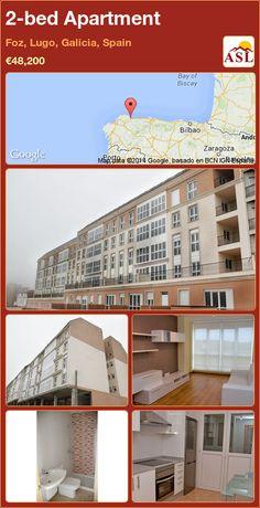2-bed Apartment in Foz, Lugo, Galicia, Spain ►€48,200 #PropertyForSaleInSpain