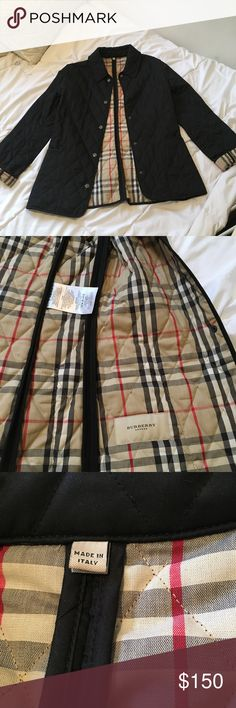 Burberry Classic Quilted  Jacket - women's XS Love this jacket ! It's just too small for me, and I would love to find it a new owner. This jacket has normal wear, so will sell it for $150 was purchased for $595 from Burberry store). Burberry Jackets & Coats Pea Coats