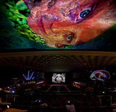 Pipilotti Rist: Installation view, Fondazione Nicola Trussardi, Cinema Manzoni, 'Parasimpatico', Milan, Italy, 2011  Photo: Roberto Marossi