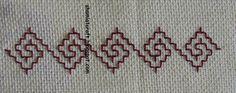 My craft works: Kasuti Embroidery - Fridge handle