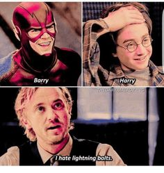 "I swear, they tried so hard in S3 of The Flash to reference HP because Tom Felton is most known for that. They even had Felton's character go on a rant like ""I grew up in a wealthy family in England. Old money. I'm an only child so I was supposed to be the heir. The thing is I was never quite like my family."" IS THAT DRACO TALKING OR JULIAN BECAUSE IM NOT SURE"