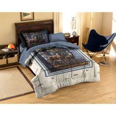 American Heritage Collection Cold Snap Deer Bedding Comforter Set