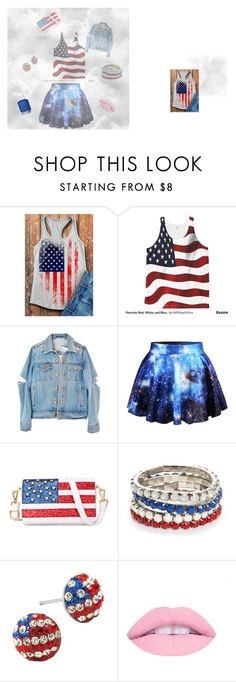 """Fourth of July outfit"" by selena589 on Polyvore featuring Chicnova Fashion, Red Camel and Essie"
