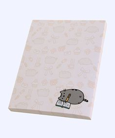 Writer Pusheen notepad, $8.