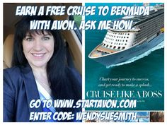 Interested in joining Avon?💝 Join my team and get great training so that you can be successful.  @wendys_avon Avon has some great incentives -- you can earn a cruise to Bermuda
