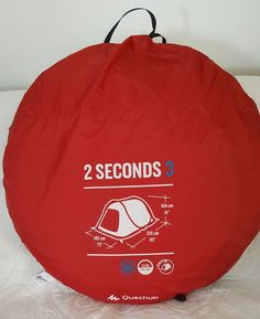 5 m Camping Bell Tente Zig 400-Ultimate Couleur Orange Imperméable /& Carry Case NEUF