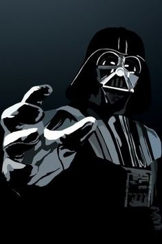 Darth Vader (iPhone wallpaper)