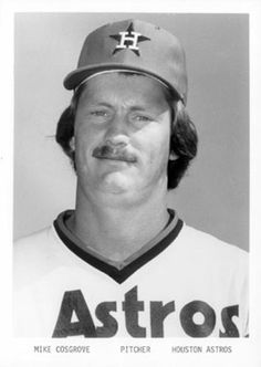 1976 Houston Astros 5x7 Photos #6 Mike Cosgrove Front