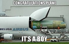 Where airplanes come from… I don't know why this made me laugh so much
