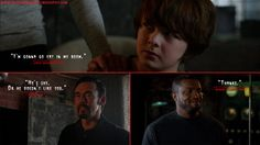 Zach Goodweather: I'm gonna go eat in my room. Vasiliy Fet: He's shy. Or he doesn't like you. Reggie Fitzwilliam: Thanks.  http://thestrainquotes.blogspot.com/2015/08/zach-goodweather-im-gonna-go-eat-in-my.html #ZachGoodweather #VasiliyFet #ReggieFitzwilliam #TheStrain #TheStrainQuotes