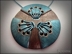 Sky Crevise - Polymer Clay Pendant | Flickr - Photo Sharing!