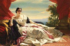 Portrait of Leonilla, Princess of Sayn-Wittgenstein-Sayn by Franz Xaver Winterhalter, 1843