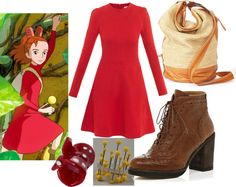 """Arrietty (The Secret World of Arrietty)"" by geekstylist on Polyvore"