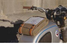 Wheelborne Map Pocketed Magnetic Tank Bag by WheelborneBagCo