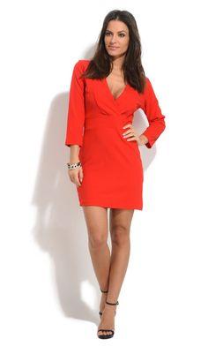 Robe AMBER rouge