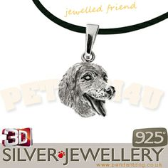 Golden retriever pendant jewelry