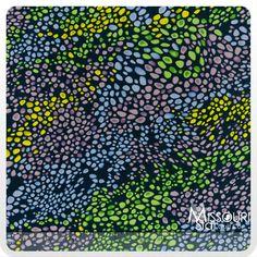 A New Leaf - Pebble Indigo Multi Yardage - Mitzi Powers - Benartex