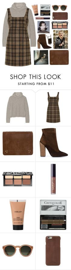 """""""Untitled #2782"""" by tacoxcat ❤ liked on Polyvore featuring Michael Kors, Unique, Jérôme Dreyfuss, Giambattista Valli, Sephora Collection, tarte, Inglot, GANT and FOSSIL"""