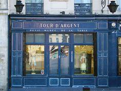 Paris  Restaurant la Tour d'Argent  By Alain Chantelat