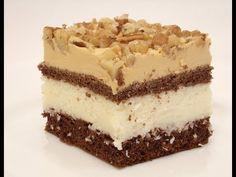 Ciasto kokosowe z kajmakiem i orzechami - YouTube Tiramisu, Ethnic Recipes, Youtube, Food, Backen, Meal, Eten, Meals, Tiramisu Cake