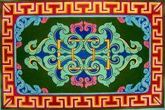 resurs3sergiy — фотографии за 10 июля 2009 на Яндекс.Фотках Tibetan Art, Chinese Design, Mongolia, Pattern Design, Buddha, Art Drawings, Concept, Embroidery, Ornaments