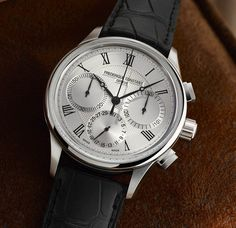 TimeZone : Industry News » Basel 2017 - Frederique Constant In-House Flyback Chronograph