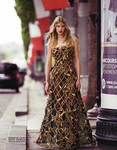 Couture Street: Irina Nikolaeva by Benjamin Kanarek for Harper's Bazaar China October 2015 - Valentino Fall 2015 Haute Couture
