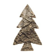Wilko Festive Bark Tree Ornament