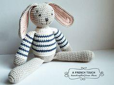 "Bunny ""Jean-Paul""  //  32cm di A FRENCH TOUCH su DaWanda.com"