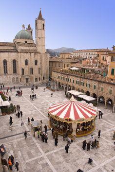 Ascoli Piceno -- Le Marche, Italy.