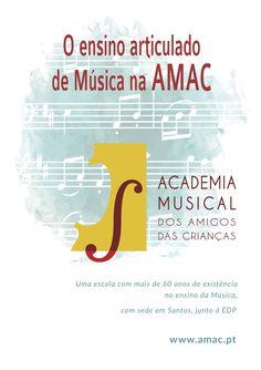 Clique na imagem para aceder a mais informações sobre o Ensino Articulado de Música da AMAC com a Escola Josefa de Óbidos.