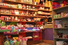 Our shelves are always stocked FULL of your favorite candies from when you were little--along with a great, new, selection for you to browse from, as well!