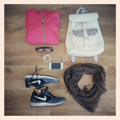Sporty content : What's in my  Grafea rucksack - Gym http://www.grafea.co.uk/shop/GRAFEA_OPPOSITES_ATTRACT_COLLECTION.html