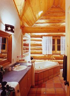 Photo Image Bathroom Designs By Rocky Mountain Log Homes