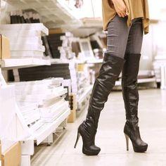Those boots!!! Sluty? Maybe? But I want them! So am I a slut? Oh, I am!