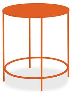 Slim 25r 24h End Table  Color:Orange  Special order item Available to schedule for delivery within 6 weeks.  $219.00