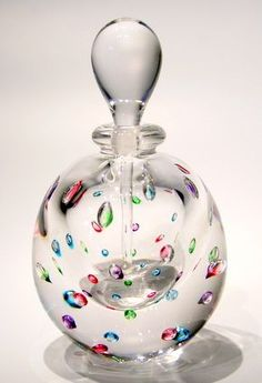 Controlled Bubble Perfume Bottle