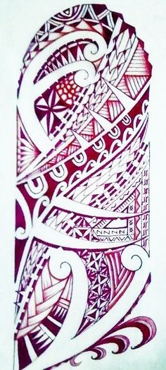 Polynesian Sleeve by tpetelo