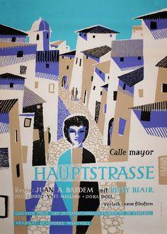 1959 German poster for CALLE MAYOR (Juan A. Bardem, Spain, 1956)  Artist: M. Marcks