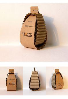 #Packaging de bombillos por Yulia Ratman. #Diseñadoresv