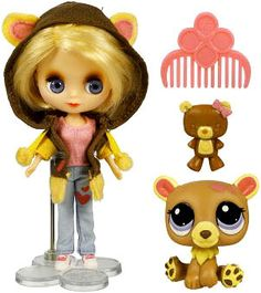 Blythe loves Littlest Pet shopCutest Cubs