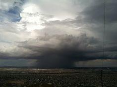 El Paso Texas, desert storm approaching!